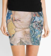 The Night Fell Down Mini Skirt