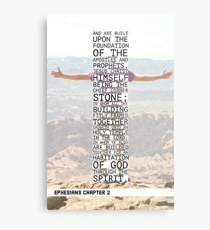 Ephesians chapter 2 Metal Print