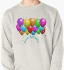Happy Birthday Balloons Pullover