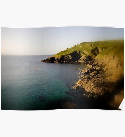 Cliffs End Poster