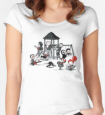 Horror Park Women's Fitted Scoop T-Shirt