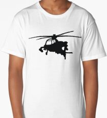 helicopter helicopter Long T-Shirt