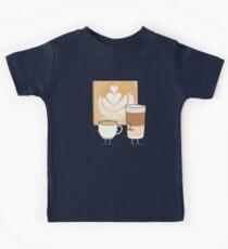 Latte art T-shirts enfant