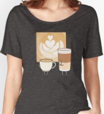 Latte art Women's Relaxed Fit T-Shirt
