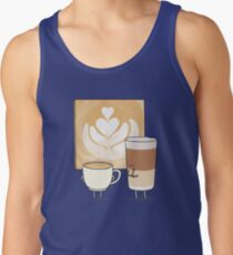 Latte art Tank Top