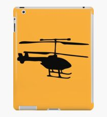 helicopter helicopter iPad Case/Skin