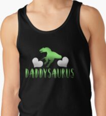 Daddysaurus Father's Day Gift Men's Tank Top