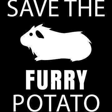 Guinea Pig - Save The Furry Potato by deichmonster