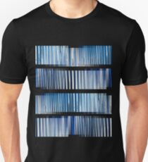 Blue Ripple Abstract Unisex T-Shirt