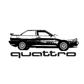 Audi Quattro Ur (Quattro text) by Holneub