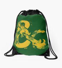 Dungeons & Dragons (Yellow) Drawstring Bag