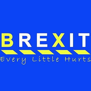 Every Little Hurts Pro-EU Anti Bexit Design | Remain in the European Union | Cancel Brexit | Europe T Shirts by west12345