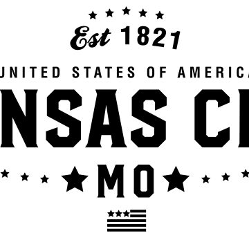 Kansas City Missouri MO State City Pride Home Vacation Road Trip by CarbonClothing