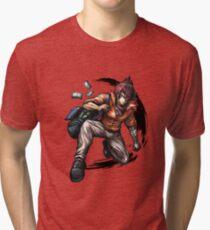 Shido Masaka Official Art  Tri-blend T-Shirt