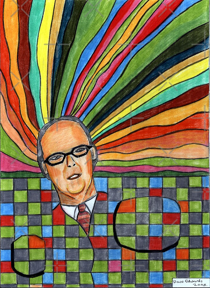 199 - VICTOR VASARELY - DAVE EDWARDS - COLOURED PENCILS - 2008 by BLYTHART