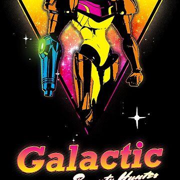 Galactic Bounty Hunter by wearbaer
