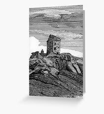 210 - PELE TOWER - DAVE EDWARDS - INK - 2007 Greeting Card