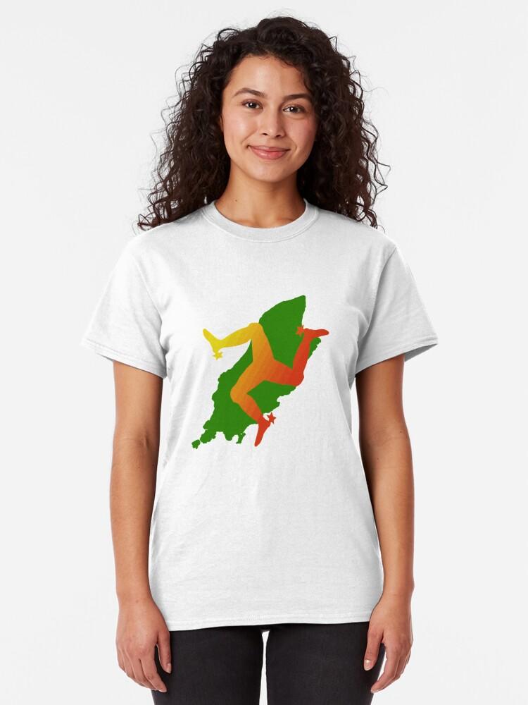 Alternate view of Isle of Man  Classic T-Shirt