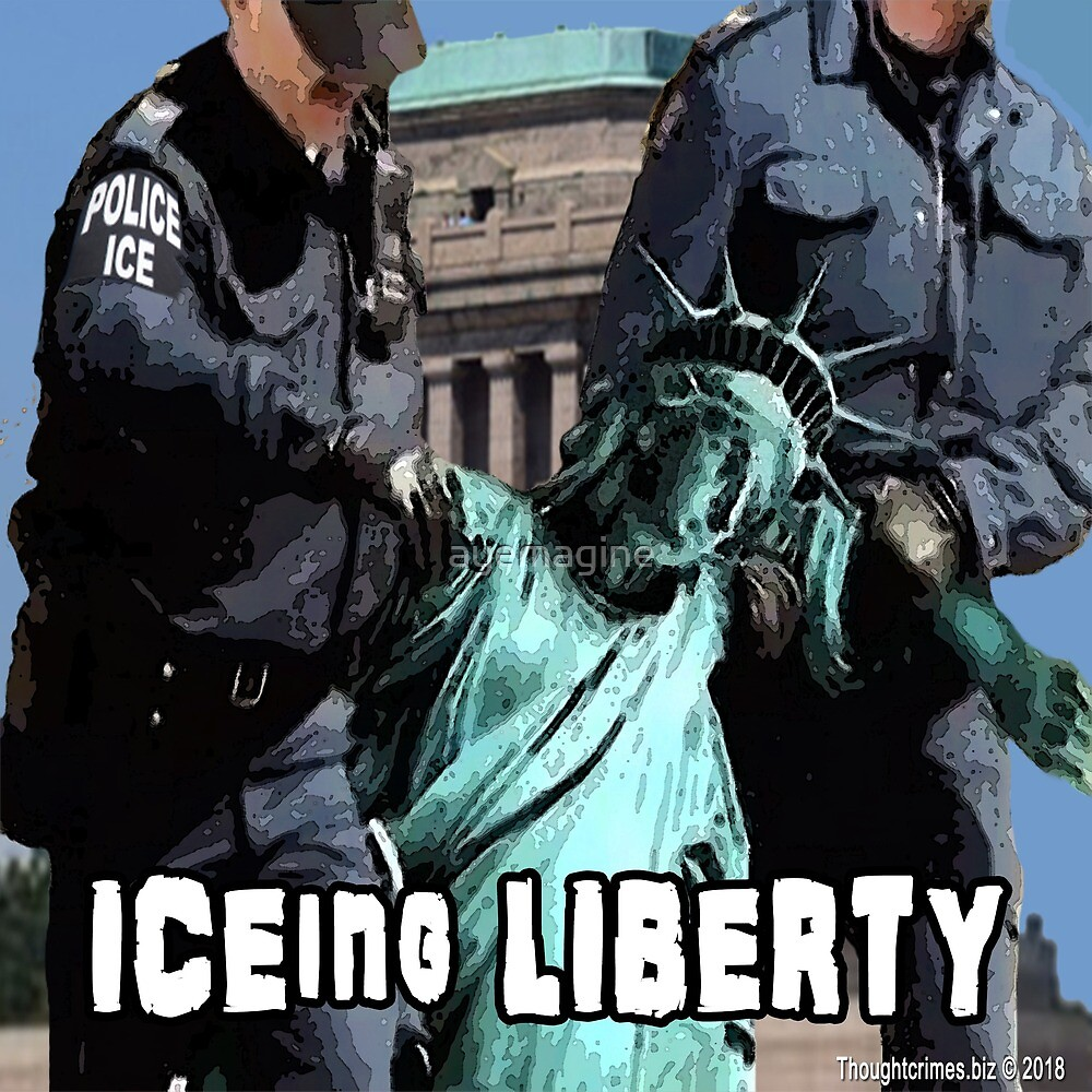 ICEing Liberty by ayemagine