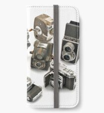 an assortment of old style film cameras        iPhone Wallet/Case/Skin