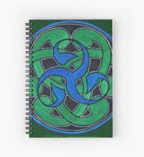 Cuaderno de espiral Escudo Triskell