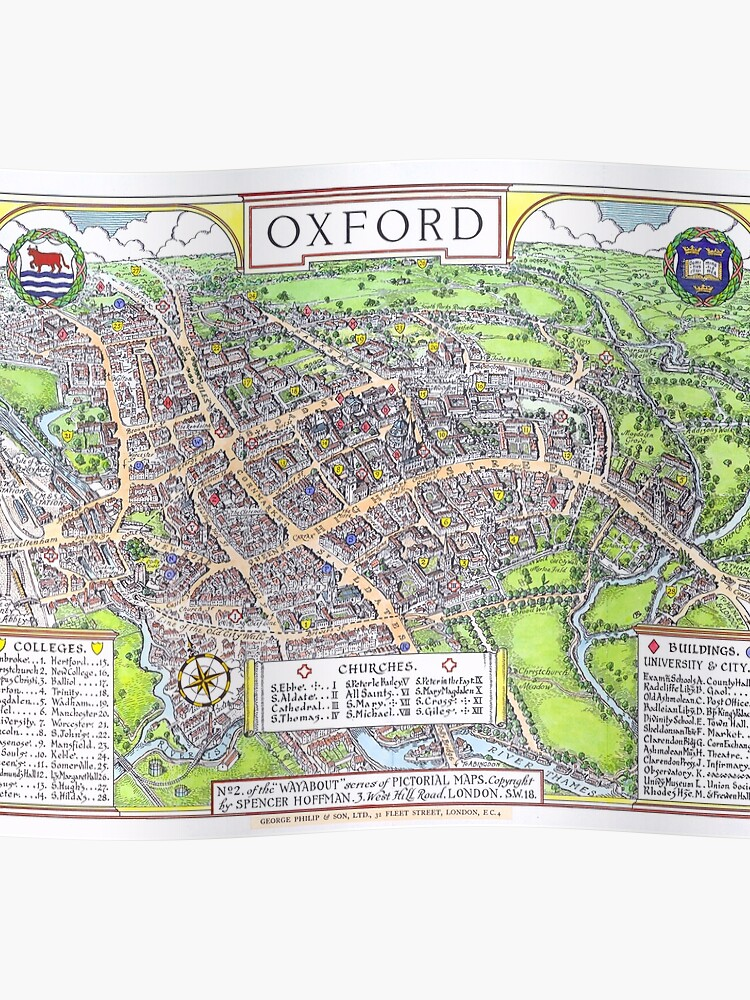 OXFORD university map ENGLAND dorm decor graduate | Poster on clayton university map, framingham university map, robert morris university campus map, dixie university map, kingsville university map, queen's university map, dresden university map, ferris state university parking map, saginaw university map, university of mt campus map, mansfield village map, midland university map, richmond university map, delaware university map, mount union university map, mansfield ohio city map, berlin university map, houston university map, mason university map, mansfield pa 16933,