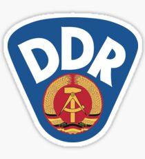 DDR East Germay Sticker