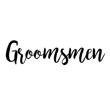Groomsmen | Wedding by koovox