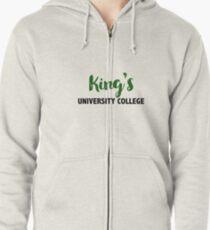 King's University College Zipped Hoodie