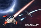 Starblast Poster by neuronality