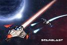 « Poster Starblast » par neuronality