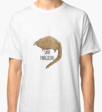 Save Pangolins: Cute Pangolin Design Classic T-Shirt