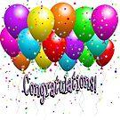Congratulations Balloons by purplesensation