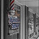 Main Street Barber Shop by Colleen Drew