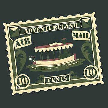 Adventureland Stamp by Lunamis
