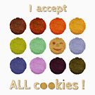 I accept ALL cookies! von Niemandsland