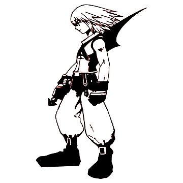 Riku - Kingdom Hearts by OtakuPapercraft