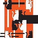 Cat in de Stijl by Conspurgatory