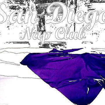 San Diego Nap Club by wigsandtackle