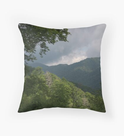 Storm's a Brewing Throw Pillow