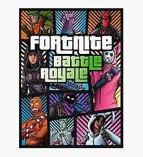 FBR - Fortnite Battle Royale… Photographic Print