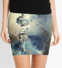 Duo, featured in Art Universe, Group-Gallery Art & Photography, Oil Painting Group, Virtual Museum, Painters Universe Mini Skirt
