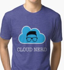 Cloud Nerd  Tri-blend T-Shirt