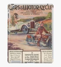 Cars and Motorcycles iPad Case/Skin