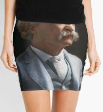 Colorized  - Mark Twain / Samuel L Clemens Mini Skirt