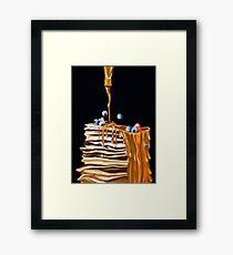 Pancakes!!! Framed Print