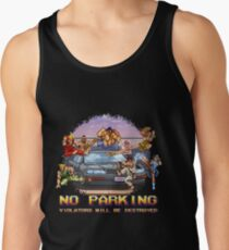 No Parking Violators will be Destroyed Tank Top