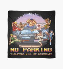 No Parking Violators will be Destroyed Scarf