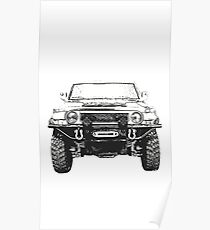 Toyota fj cruiser Poster