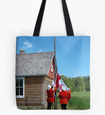 Flag Raising - Canada Day Celebration III Tote Bag